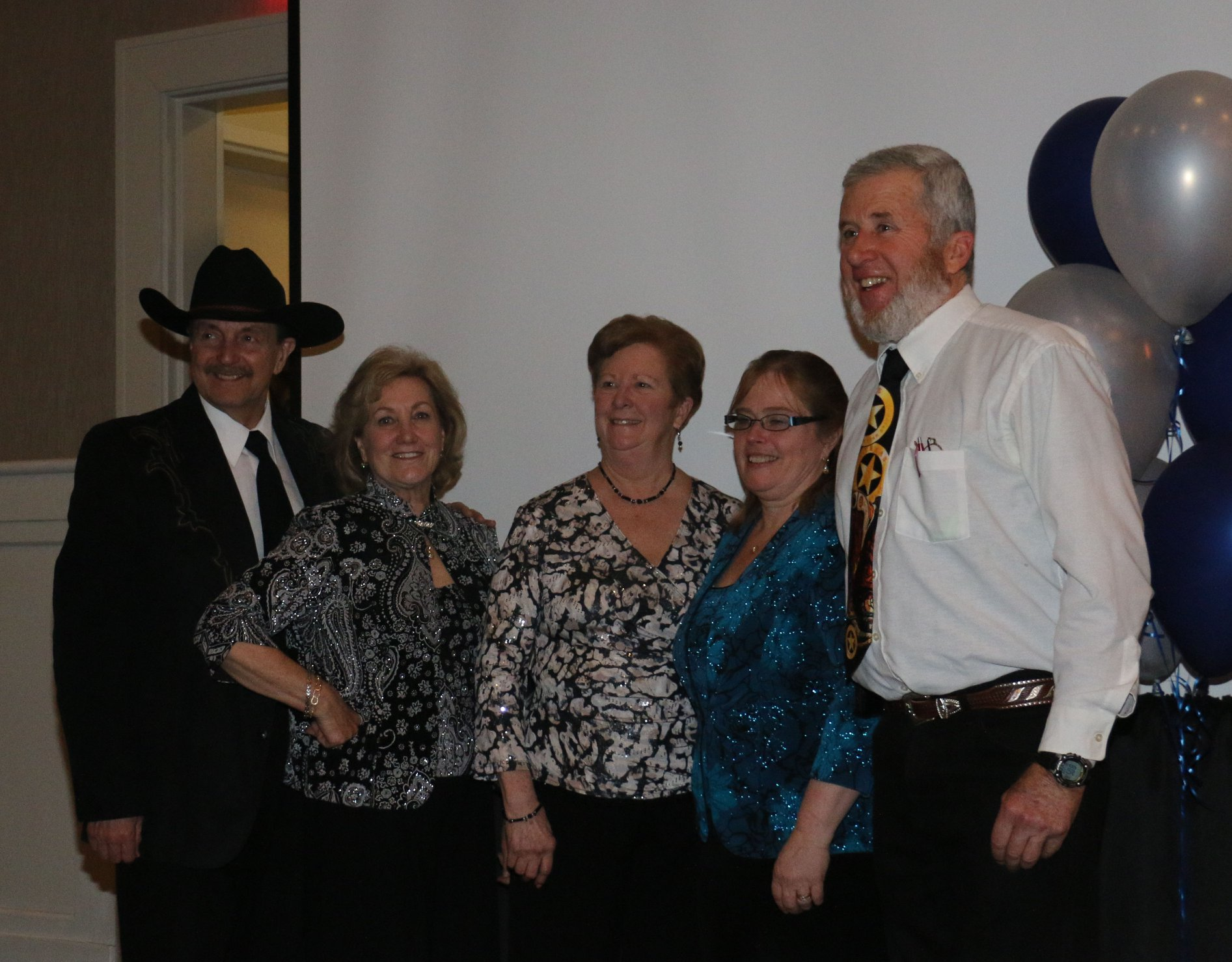 NEMHA Past and Current President: Bob Harb, Chris Cassenti, Joan Travers, Judy Travers, Dick Pitman