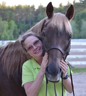 riding instructor:Deb Nichol